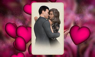 Liebe-Kartenlegen