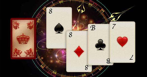 Kartenlegen lernen mit Skatkarten