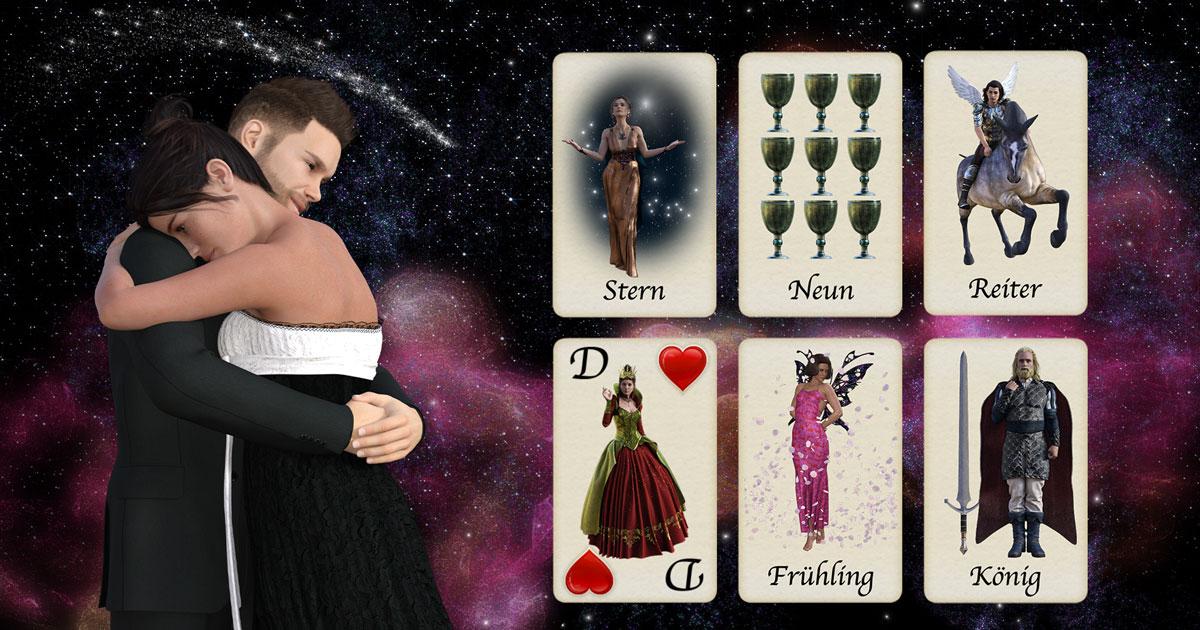 Kartenlegen für die Liebe