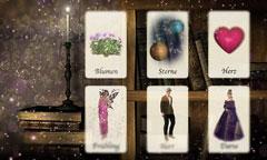 Kartendeutung der Liebe