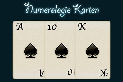Numerologie Karten Titel