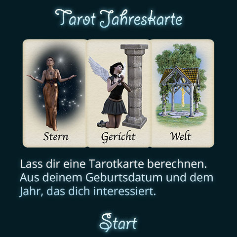 Tarot Jahreskarte Titel