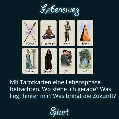 Tarot Lebensweg Titel