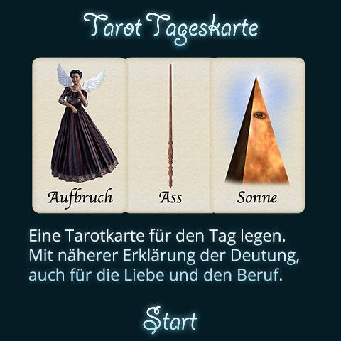 Tarot Tageskarte Titel